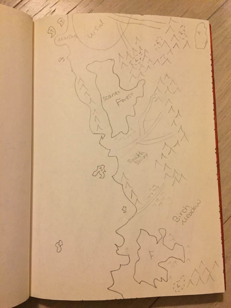 Serdim South Closeup Map